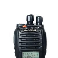 Wholesale Vhf Radio Car Dual - Wholesale-Best Walkie Talkie baofeng UV b5 Dual Band Two Way Radio 5W 128CH UHF VHF FM VOX Pofung UV-b5 ham radio Dual Display for car