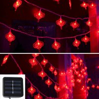 Wholesale Led Lighting For Wedding Receptions - Wholesale- For wedding receptions Chinese Knot Light String LED Flash light Night Light For Festival Christmas Decoration