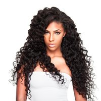 Raw Indian Deep Wave Human Hair 4 Bundles 7a Grade Virgin Unprocessed Deep Curly Hair, 100g / bundle, Natural Black Color