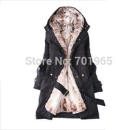 Wholesale Cheap Faux Fur Jackets - Wholesale-Cheap Products Winter jacket,winter outerwear,winter clothes,Faux fur lining women's fur jackets Parka Overcoat Tops