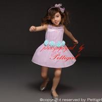 çiçek tasarımı gündelik elbiseler toptan satış-Pettigirl 2016 Yaz Moda Kız Elbise Kolsuz Çiçek Prenses Rahat Elbise Yeni Tasarım Çocuklar Kıyafetler GD41207-03 Ücretsiz Kargo Ucuz