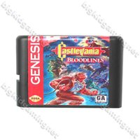 All'ingrosso Castlevania-cartuccia di gioco Bloodlines Card Game 16 bit MD Per Sega Genesis