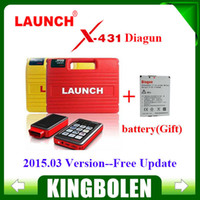 Wholesale Version Software Launch Diagun X431 - 2015.04.22 Latest Version 130 Software Launch X431 Diagun Full Set X-431 diagun +Lifelong free update+one more battery as Gift