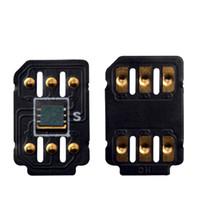 Wholesale models iphone - Black card ICCID Model Unlock For iPhone Easy Installing Unlocking Sim Card With Black Chip Hei card Wholesale Price with Free DHL