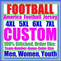 Wholesale Factory Colleges - New York Personalized american football jerseys college shirts authentic factory sports olive Salute to Service jersey 4XL 5XL 6XL 7XL 2018