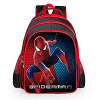 Wholesale Spiderman Backpacks - High Quality Spiderman Backpack Kids School Bags for Boys Schoolbag Backpacks For Children Backpacks