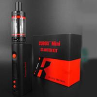 Wholesale Rechargeable Mini Cigarette - Kangertech Subox Kit Subtank Kbox Mini clone Magnet Cover OCC RBA Coil Rechargeable Box Mod E Cigarette Kits TZ536