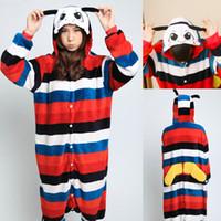 Wholesale unisex adult kigurumi animal online - adult unisex fannel animal onesie kigurumi cosplay dress pajamas costumes butterfly