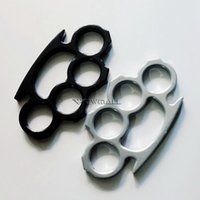équipement d'exercice de la main achat en gros de-Knuckles Classique Forme Forme Équipement De Remise En Forme Autodéfense Boucle De La Main, Exercice Poings 5pcs