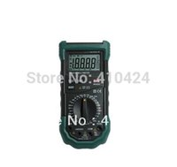 Wholesale Continuity Test Multimeter - LCD Digital Multimeter MASTECH MS8265 AC DC Volt Ampere Ohm Capacitance Frequency Tester Meter Transistor Continuity Diode Test order<$18no