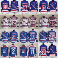 Wholesale Brian Leetch Jersey - York Rangers Throwback Jerseys 11 Mark Messier 35 Mike Richter 2 Brian Leetch 30 Henrik Lundqvist 27 Ryan McDonagh 61 Nash Hockey Jerseys