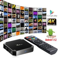 Mini pc X96mini Android7.1 Smart TV BOX S905W Quad Core unterstützung 2,4G Wireless WIFI Set Top Box ott tv box wifi fernbedienung