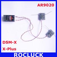 Wholesale Receiver Radio - Spektrum AR9020 9ch XPlus Receiver DX7S DX18 DX10T DX8 DX9 SPMAR9020