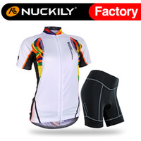 Nuckily Sports china custom make cycling jersey set Anti UV with best  quality riding suit for ladies NJ521 NS359 ae3bf6efb