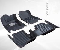 tapetes de carro de qualidade venda por atacado-Esteiras do assoalho do carro da alta qualidade para 2009 2012-2015 Ford Fcous 3D Car-styling Liner