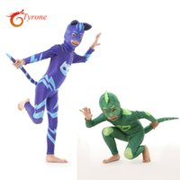 Wholesale Christmas Costumes For Teenage Boys - Moonlight Hero mask Bracelet for birthday party Carnival cape gifts Summer Camp Children day for boy&girl cosplay costume Have a tail