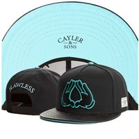 Wholesale Wholesale Rolling Hands Snapback - Wholesale-188 Styles Galaxy Cayler & Sons Snapback hats, 2015 New fashion rolling hand Cayler sons letter Baseball hiphop snap back