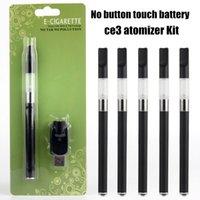 Wholesale E Cigarette Auto Battery - o pen kit No button 280mah battery Hot 510 vape pen case auto e cigarette o pen e cig kit ce3 atomizer 0.5 1ml vaporizer