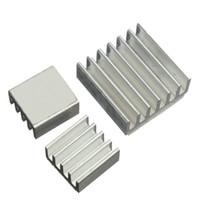 ingrosso vga ram dissipatore di calore-Wholesale- 3Pcs CPU GPU VGA RAM IC dissipatore di calore in alluminio dissipatore di calore per regolatore di tensione di raffreddamento kit radiatore di raffreddamento per Raspberry