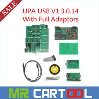 Wholesale Nissan Usb Adaptor - 2015 Best UPA USB V1.3.0.14 With Full Adaptors UPA USB Programmer DHL Free Shipping