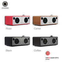 Wholesale Iphone Stereo Systems - GGMM M3 Bluetooth Speaker Wireless Wi-Fi Speaker in Stereo System for iPhone Samsung SmartPhone Tablet Super Bass HiFi Sound New