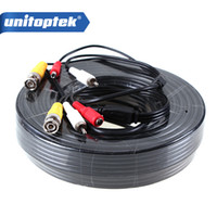 4Pcs / lot 50M 165Ft Video Power CCTV Cable BNC e DC Use para câmeras de vigilância CCTV
