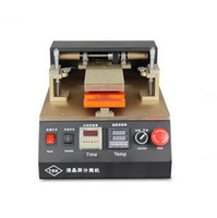 Wholesale Separate Lcd Automatic - TBK Semi Automatic LCD Screen Separator Machine Built-in Air Vacuum Mobile Phone Glass Touch Screen Repairing Refurbish separate Machine