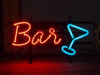 Wholesale BAR CHEER NEON SIGN HANDICRAFT CUSTOM REAL GLASS TUBE LIGHT SIGNS BAR BEER PUB STORE HUNG WALL
