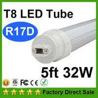 32W 5 pies R17D Tubos LED luces super resplandor Brillo Doble 144Leds 3200lm 2835SMD caliente / Natrual / blanco frío Reemplazar 1500mm Luz fluorescente