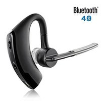 V8 <b>Voyager Bluetooth</b> Headset Handfree Bluetooth V4.0 Earhook Voice Control HeadPhone per Iphone 7 Samsung S7 Legend Wirless Auricolare