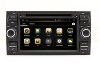 Wholesale Gps Ford Kuga - Android 5.1 Car DVD Player GPS Navigation for Ford Focus Transit S-Max Mondeo Kuga with Radio BT USB Head Unit Audio Video