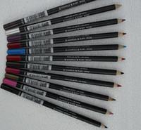 ingrosso migliori matite per labbra-60 PCS TRASPORTO LIBERO DI TRASPORTO 2016 La migliore vendita di Best-Seller più bassa I più nuovi prodottiNUOVO linea di labbro della matita della matita di buona qualità