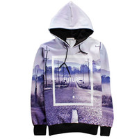 Wholesale Womens Thick Hoodies - w1215 2015 Streets Letter 23 Future Punk Rock Baseball Man Jacket Casual Hoody Male Printed Hoodies Sweatshirts Mens Womens Pullover