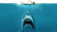 Wholesale Nature Print Paper - Free Shipping Jaw Movie Poster The Huge Shark Under Water Art Posters Prints Wall Paper Home Decor 16 24 36 47 inches