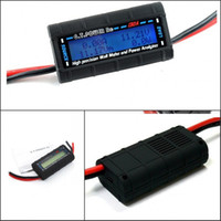 Wholesale Gt Rc - Wholesale-G.T.POWER LCD Rc Watt Meter and Power Analyzer High Precision 130A 60V GT-Power
