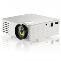 Wholesale Video Engine - Video Projector Full HD Digital Cinema Projectors LCD LED Light Engine Best Home Projector for Movie Black White Colors GP7S