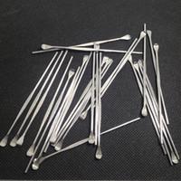 Wholesale micro g herbal vaporizer pen for sale - Group buy WAX TOOL E cigarettes dabber tool titanium dab nail for wax dry herbal glass ago g5 vgo skillet atmos micro atomizer g vaporizer pen