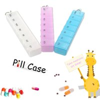 Wholesale White Drugs - Seven-day Medicine Case Storage Drug Case Aid Box Moisture-proof Mini Medical Kit Small Objects Container