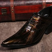 Wholesale Coffee Color Shoe Man - Wholesale-2015 Oxford Shoes Coffee color Mens Business Dress Shoes Genuine Leather Pointed Toe Mens Wedding Shoes Plus Size 38-46