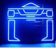 nuevos juegos de tanques al por mayor-Nuevo Tanque Tron Reconocedor Arcade Letrero de neón Comercial Barra de tubo de vidrio real Tienda en casa Sala de juegos Pantalla personalizada hecha a mano Letreros de neón 24