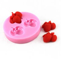 Wholesale Silicone Soap Molds Fruit - DIY Litchi Shape Cake Stencil Fruit Style Silicone Cake Molds Soap Form Baking Pastry Cake Tools