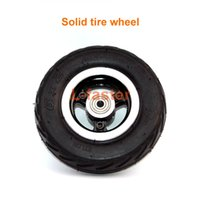 Wholesale Metal Scooters - 6 Inch Electric Scooter Wheel 6x2 Wheel With Air Tire Or Solid Tire Metal Hub With 608 Bearings 8mm Axle Hole Trolley Cart Wheel