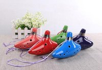 Wholesale Zelda China - Best Selling Ocarina Musical Instruments Legend of Zelda Ceramic Materail Made in China Top Quality Piccolos 2016 Spring Style