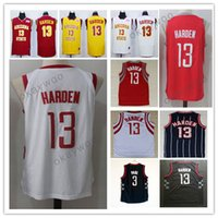 Wholesale Arizona States - Men's Sportwear 13 James Harden Arizona State Jersey Sun Devils College Basketball Jersey Stitched 3 Chris Paul 34 Hakeem Olajuwon White Red