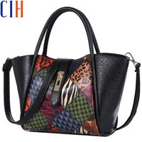 Wholesale Special Tote Brands - Wholesale-Charm in hands Good Quality Women Handbags Famous Brands Special Trapeze 2 PCS In Set Luxury Shoulder Bag Tote Lady Pouch C0458