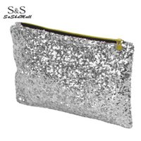 Wholesale Women Wallet Fashion Style Sparkle - Fashion Style Women's Sparkle Spangle Clutch Bag Wallet Purse Handbag Evening Bag 4 colors 7248