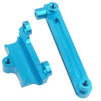 Wholesale Rc Steering Servo - RC K949-006 Blue Alum Steering Servo Saver Complete 1:10 Rock Climbing K949