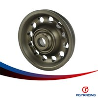 Wholesale Pulley Sizes - PQY RACING-Racing Light Weight Aluminum Crankshaft Pulley OEM Size 92-95 For Civic SOHC D16 PQY-CP009