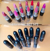 Wholesale brand MC makeup maquiagem batom Sexy Charming Moisture Beautiful Lipstick high quality batons lips