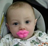 Wholesale Silicone Baby Nipple Dummy Funny Soother Joke Prank Toddler Pacy Orthodontic Nipples Teether Baby Pacifier Care HO676960
